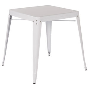 Patterson Metal Table - White - OSP Home Furnishings - Contemporary - Commercial & Residential