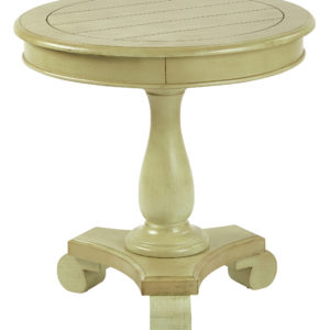 Avalon Round Accent table - Antique Celedon - OSP Home Furnishings - Traditional - Residential