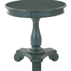 Avalon Round Accent table - Caribbean Finish - OSP Home Furnishings - Traditional - Residential