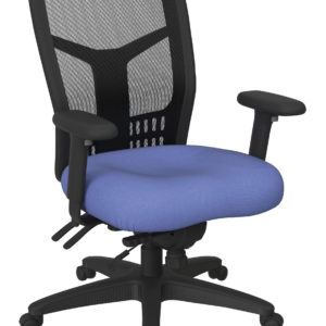 ProGrid High Back Managers Chair - Fun Colors Sky - Pro-Line II - Contemporary - Commercial