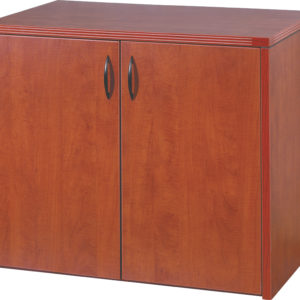 Napa 2-Door Storage Cabinet 36X22 - Cherry - OSP Furniture - Contemporary - Commercial