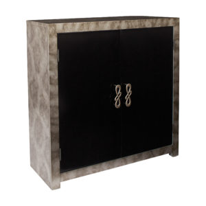 Selene Storage Console - Grey Combo - OSP Home Furnishings - Classic Contemporary - Residential
