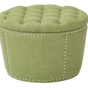Lacey Tufted Storage Set - Milford Grass - OSP Home Furnishings - Traditional - Residential