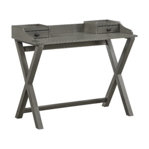 Barton Desk In Grey Finish - Grey - OSP Home Furnishings - Contemporary - Residential