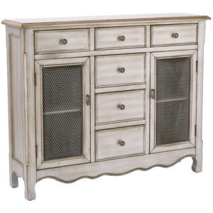 Ashfield Storage Console - Platinum - OSP Home Furnishings - Traditional - Residential