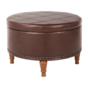 Alloway Storage Ottoman - Espresso - OSP Home Furnishings - Residential