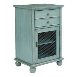 Alton Storage Cabinet - Blue - OSP Home Furnishings - Traditional - Residential