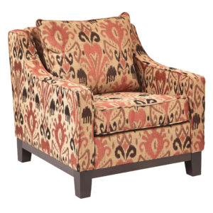 Regent Chair - Arizona Rust - OSP Home Furnishings - Midcentury - Residential