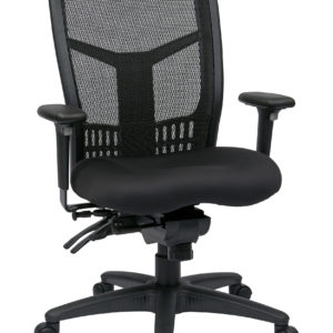 ProGrid High Back Managers Chair - Coal - Pro-Line II - Contemporary - Commercial