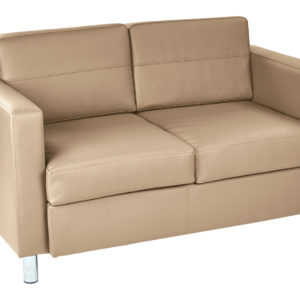 Pacific LoveSeat - Buff - Work Smart - Contemporary - Commercial & Residential