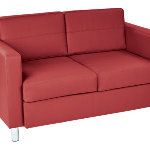 Pacific LoveSeat - Lipstick - Work Smart - Contemporary - Commercial & Residential
