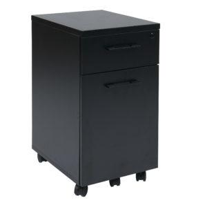 Prado Mobile File - Black - OSP Home Furnishings - Modern - Commercial & Residential