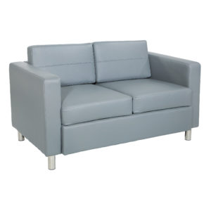 Pacific LoveSeat - Charcoal Grey - OSP Home Furnishings - Contemporary - Commercial & Residential