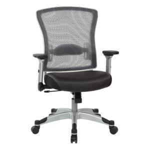 Professional Light AirGrid Back Chair - Siliver - SPACE SEATING - Contemporary - Commercial