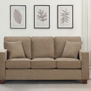 Russell 3 Seater Sofa - Earth - OSP Home Furnishings - Residential