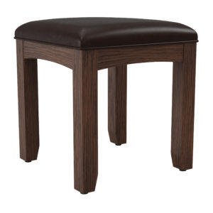 Modern Mission Bench for Vanity - Vintage Oak - OSP Home Furnishings - Residential