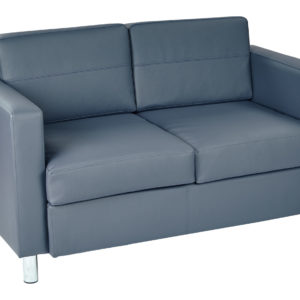 Pacific LoveSeat - Blue - Work Smart - Contemporary - Commercial & Residential
