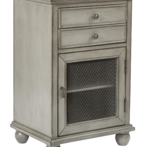 Alton Storage Cabinet - Taupe - OSP Home Furnishings - Traditional - Residential