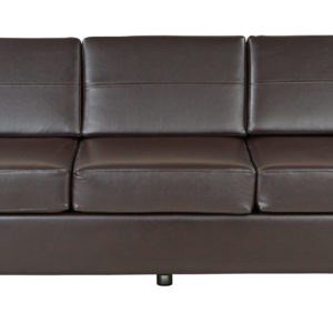 Pacific Sofa Couch - Espresso - OSP Home Furnishings - Contemporary - Commercial & Residential
