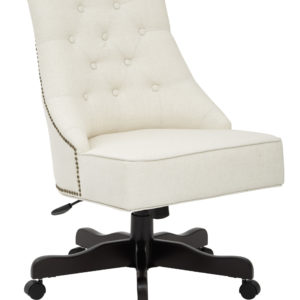 Rebecca Office Chair - Linen - OSP Home Furnishings - Traditional - Residential