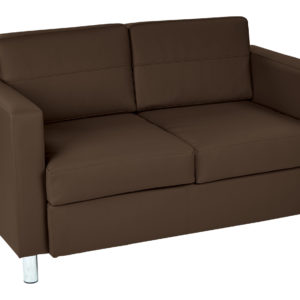Pacific LoveSeat - Java - Work Smart - Contemporary - Commercial & Residential