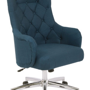 Ariel Desk Chair - Azure - OSP Home Furnishings - Traditional - Residential