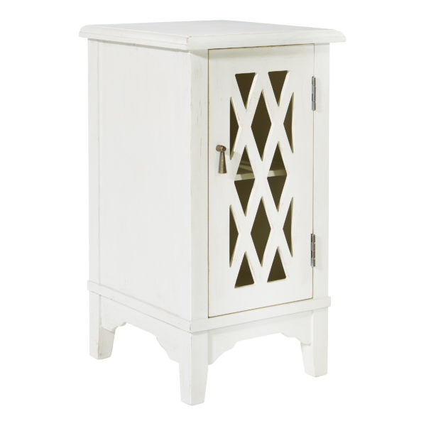 Remini Storage Console - Antique Beige - OSP Home Furnishings - Residential