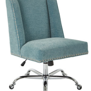 Alyson Managers Chair - Sky - OSP Home Furnishings - Traditional - Residential