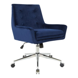 Quinn Office Chair - Blue - OSP Home Furnishings - Midcentury - Residential