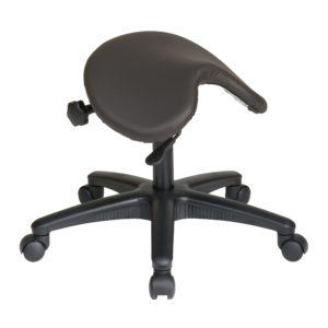 Pneumatic Drafting Chair - Dillon Graphite - Work Smart - Contemporary - Commercial