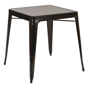 Patterson Metal Table - Black - OSP Home Furnishings - Contemporary - Commercial & Residential