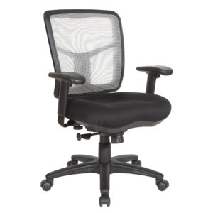 White Air Mist Mesh Back Chair - White - Pro-Line II - Commercial