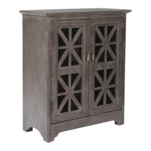 Audrey Storage Console - Antique Charcoal - OSP Home Furnishings - Residential