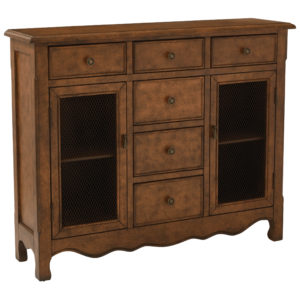 Ashfield Storage Console - Java - OSP Home Furnishings - Traditional - Residential