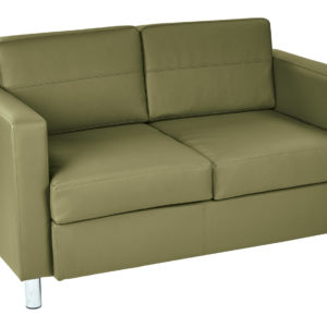Pacific LoveSeat - Sage - Work Smart - Contemporary - Commercial & Residential