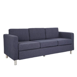 Pacific Sofa Couch - Navy - OSP Home Furnishings - Contemporary - Commercial & Residential
