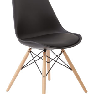 Allen Guest Chair - Black - OSP Home Furnishings - Midcentury - Residential