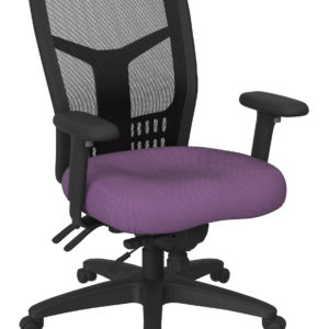 ProGrid High Back Managers Chair - Fun Colors Purple - Pro-Line II - Contemporary - Commercial