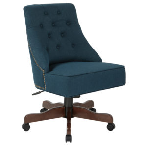Rebecca Office Chair - Azure - OSP Home Furnishings - Traditional - Residential