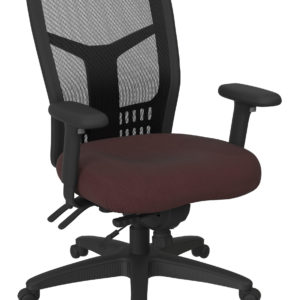 ProGrid High Back Managers Chair - Icon Burgundy - Pro-Line II - Contemporary - Commercial