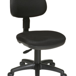 Basic Task Chair - Black - Work Smart - Contemporary - Residential