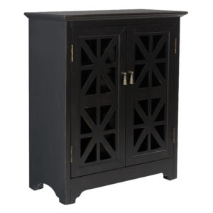 Audrey Storage Console - Antique Black - OSP Home Furnishings - Residential