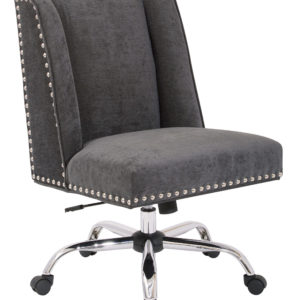 Alyson Managers Chair - Charcoal - OSP Home Furnishings - Traditional - Residential