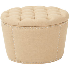 Lacey Tufted Storage Set - Milford Maize - OSP Home Furnishings - Traditional - Residential
