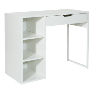 "Ravel 40""W Desk - White - OSP Home Furnishings - Morden - Residential"