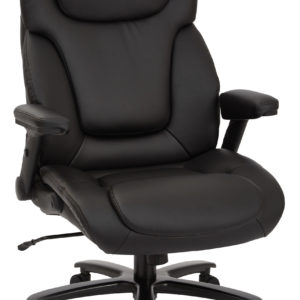 Big and Tall Deluxe High Back Executive Chair - Black - Pro-Line II - Contemporary - Commercial