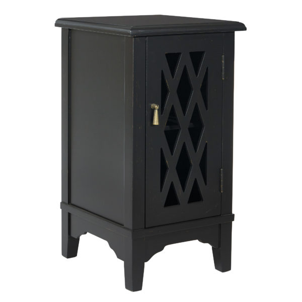 Remini Storage Console - Antique Black - OSP Home Furnishings - Residential