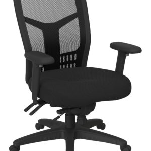 ProGrid High Back Managers Chair - Fun Colors Black - Pro-Line II - Contemporary - Commercial