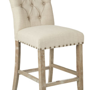 "Preston 24"" Counter Stool - Marlow Burlap - OSP Home Furnishings - Contemporary - Residential"