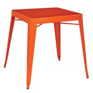 Patterson Metal Table - Orange - OSP Home Furnishings - Contemporary - Commercial & Residential